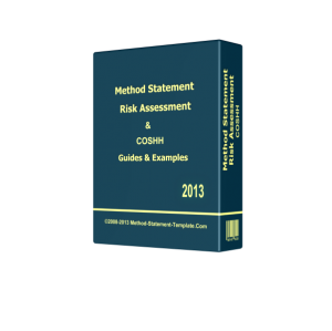 Method Statement, Risk Assessment and COSHH Pack 2018