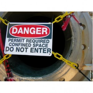 Confined Spaces Risk Assessment