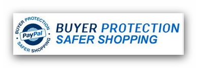 Your Purchases are protected by Paypal
